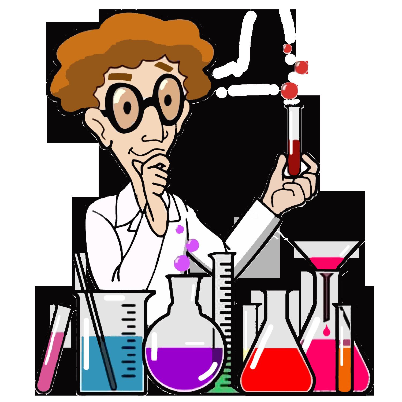 Scientist clipart science man. Laboratory cartoon clip art