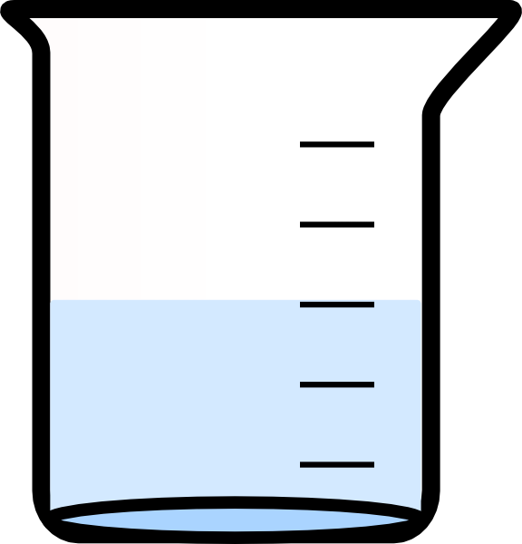 Beaker clipart water clipart. Lab