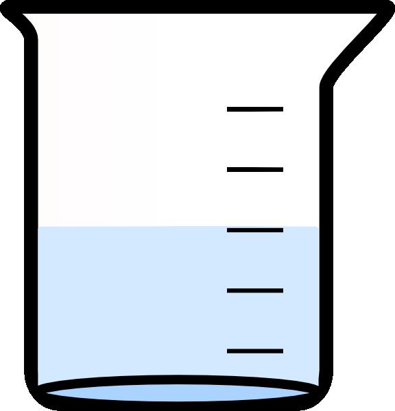 Beaker . Lab clipart vector