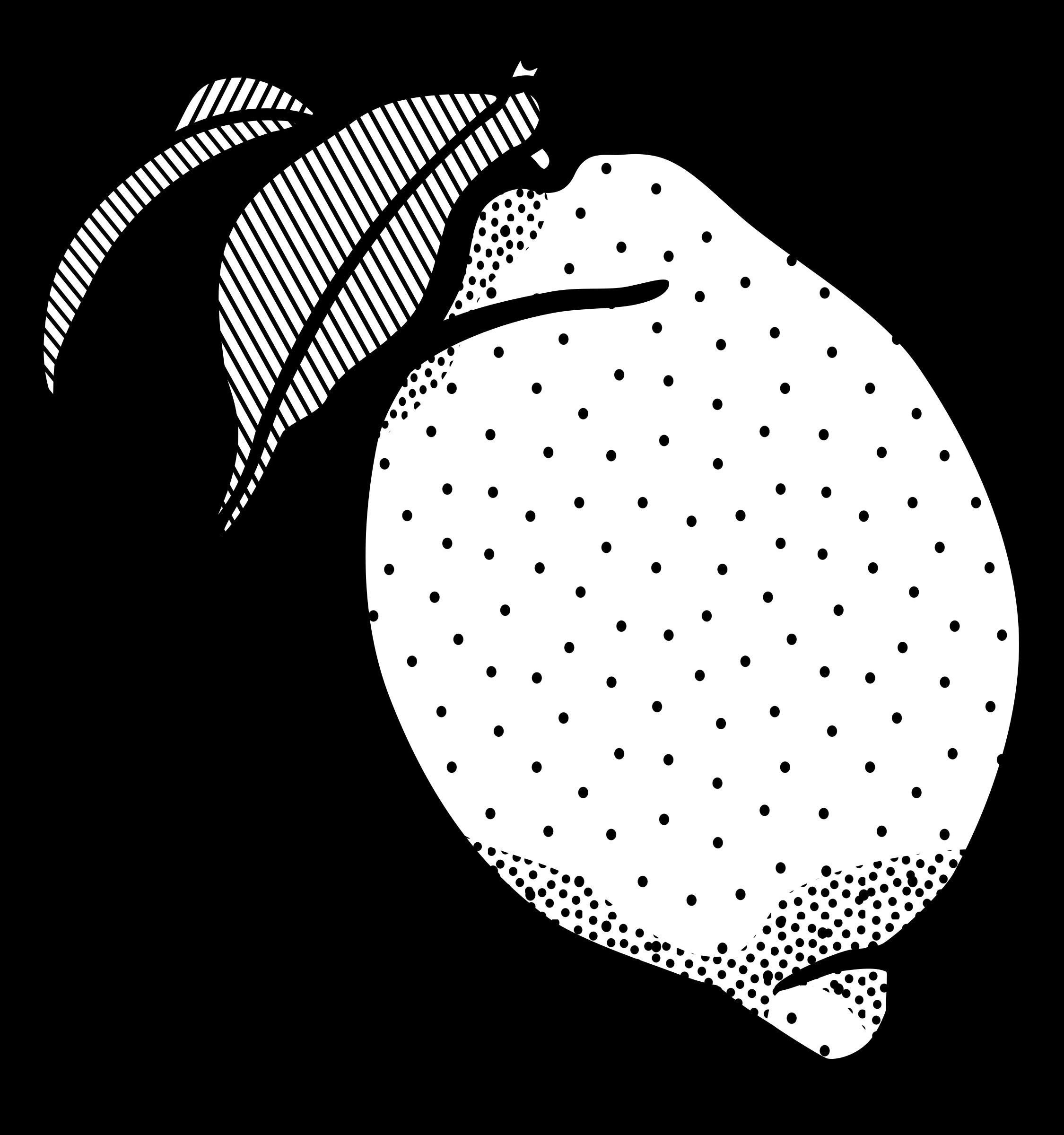 Lemon Cheesecake Line art Black and white Clip art