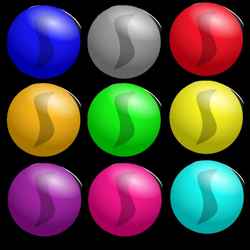 Game dots medium image. Marbles clipart clip art