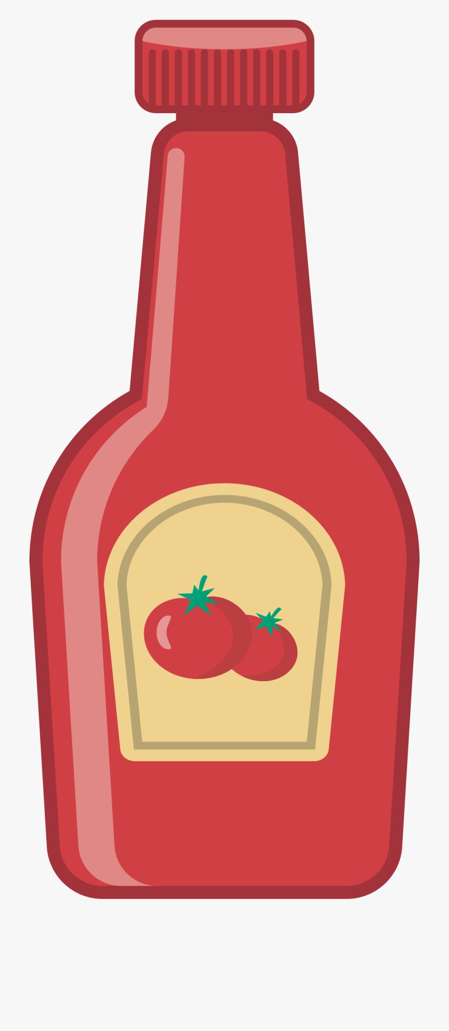 Ketchup clipart jar. Tomato sauce transparent background