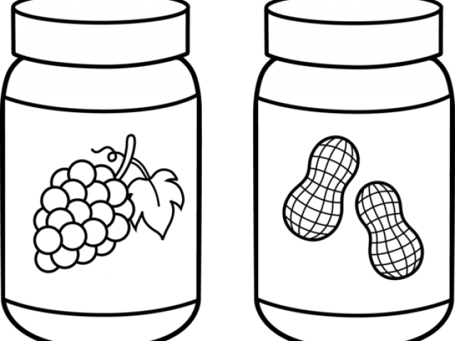 Peanut butter and x. Jelly clipart jelly jar
