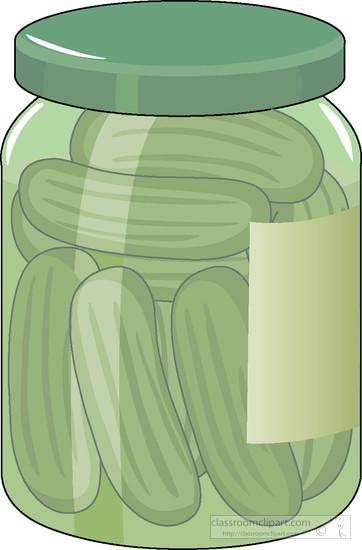 Pickle clipart pickle bottle. Free pickles jar cliparts