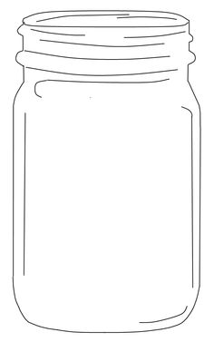 Jar clipart printable. Free mason clip art