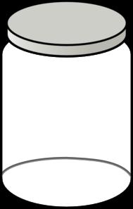 Clear clip art artistic. Jar clipart printable