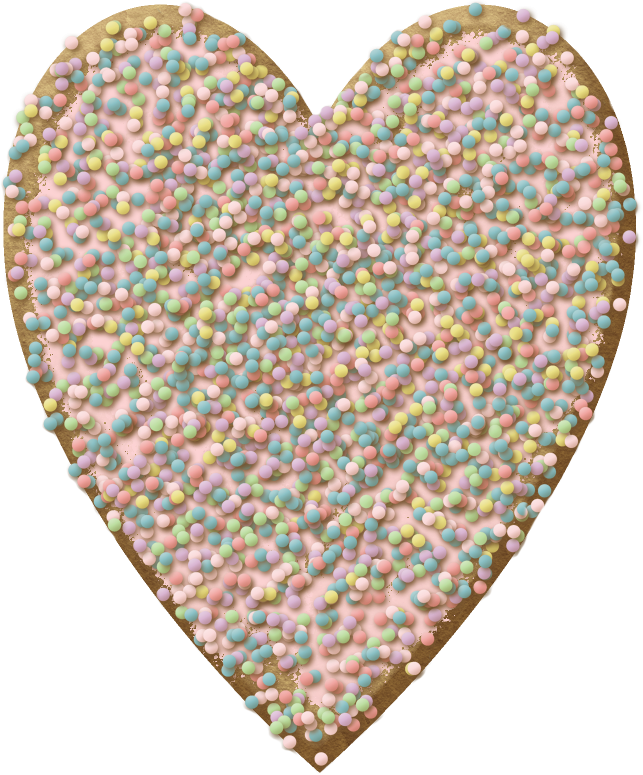 Jar clipart sprinkle. Fjardine littlestbakeshop heart biscuit