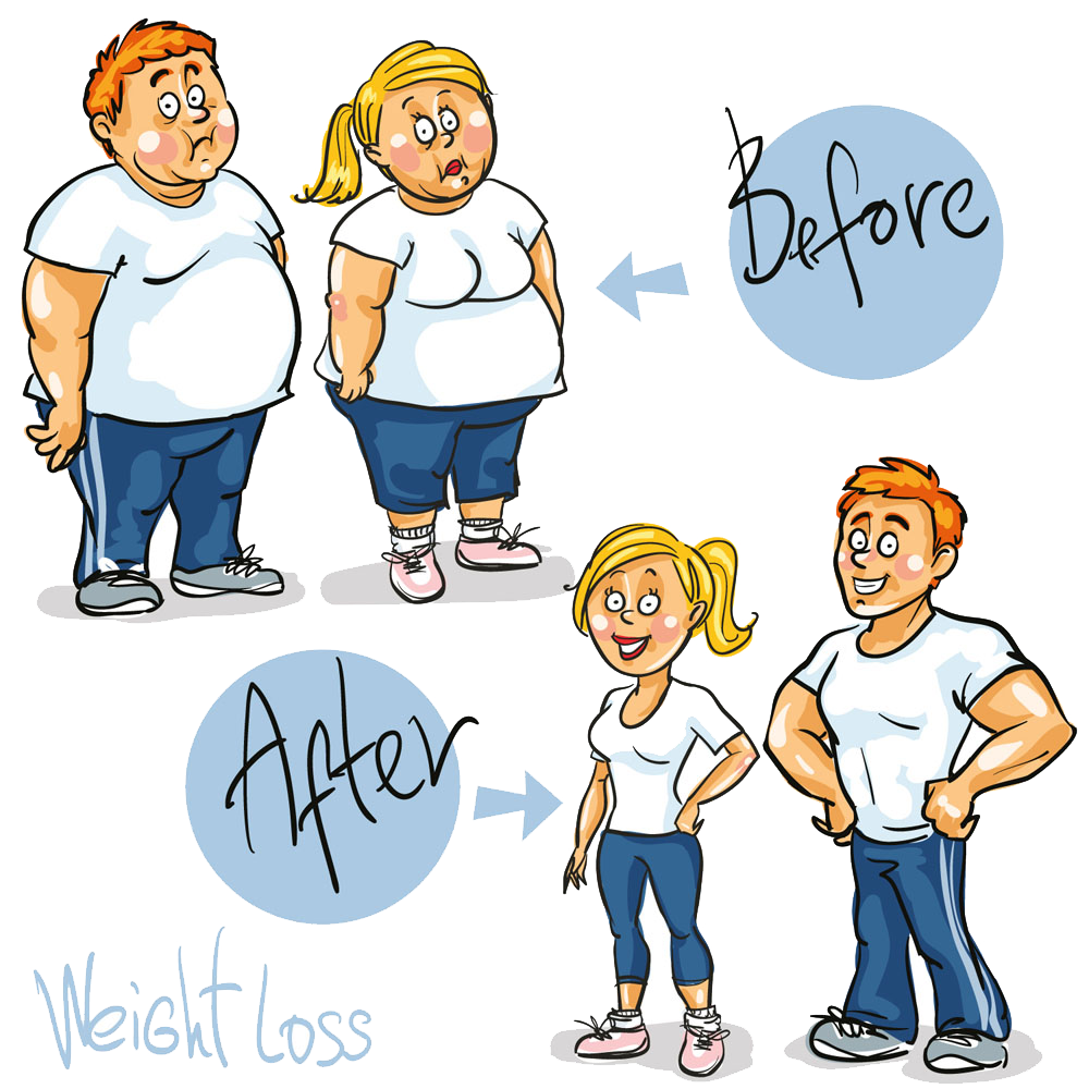 Weight clipart weight control. Loss cartoon royalty free