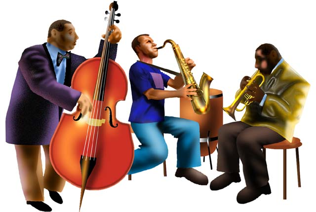 Jazz clipart. Band