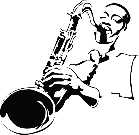 Jazz clipart blues music. Pin by sarah on