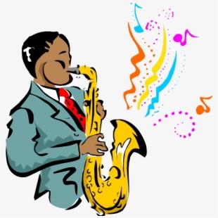 Jazz clipart cartoon. Live festival in san