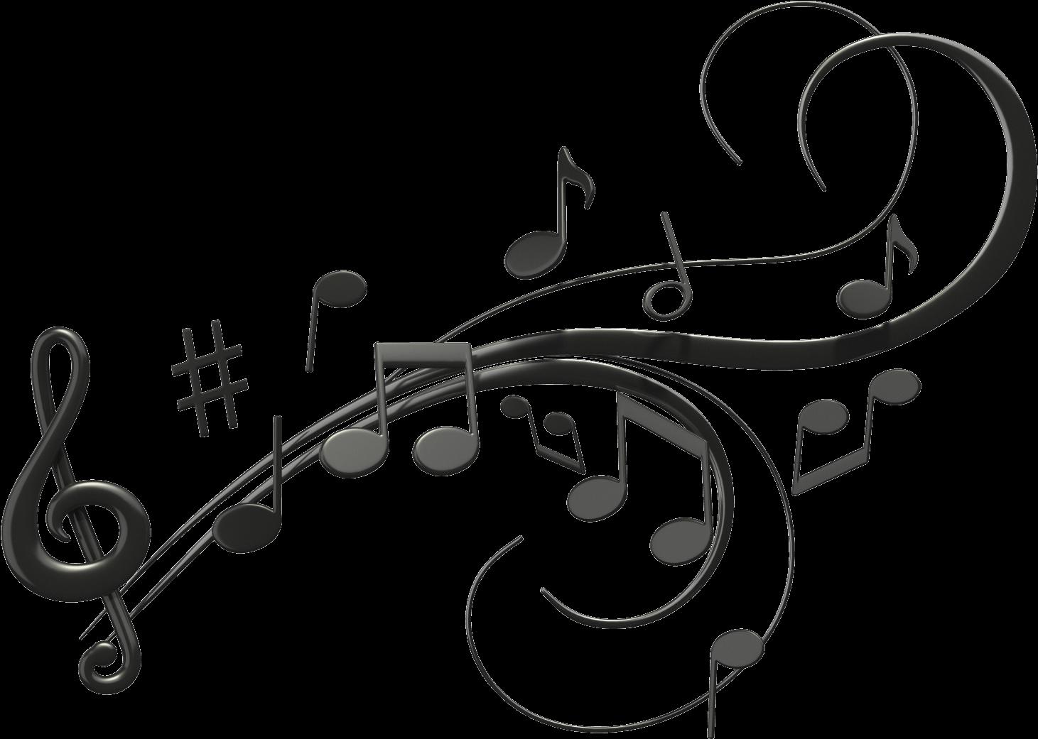 Music notes transparent background. Jazz clipart clip art