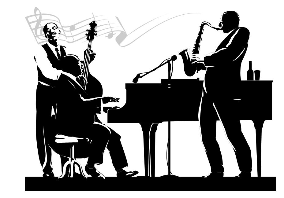 Music musician musical instrument. Jazz clipart jazz club