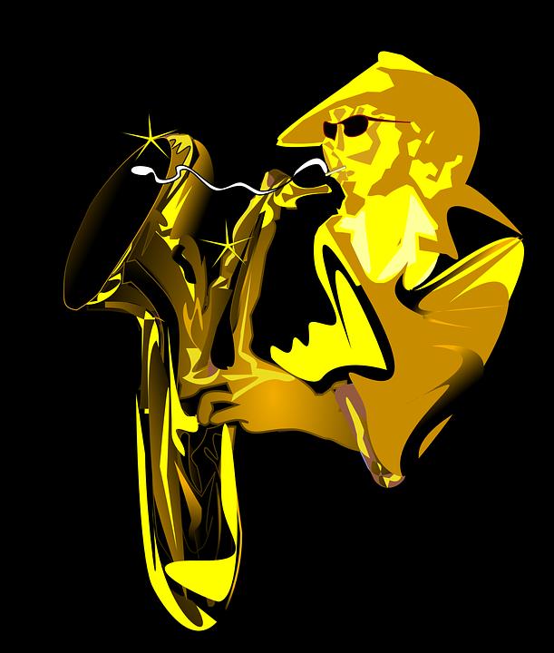 Jazz clipart jazz club.  k music video