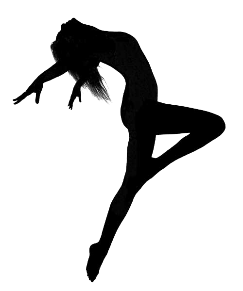 Jazz clipart jazz dancing. Ballet dancer silhouette dance