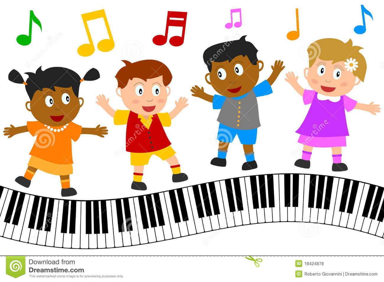 Musician clipart children's. Music clip art for