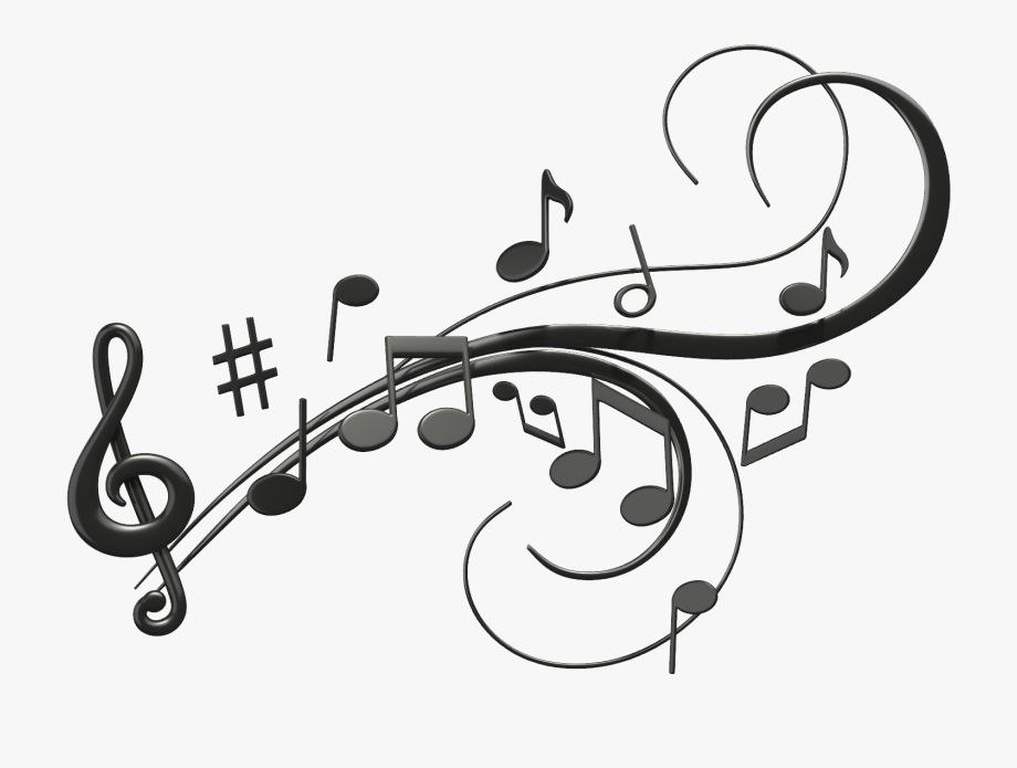 Music notes clip art. Jazz clipart line