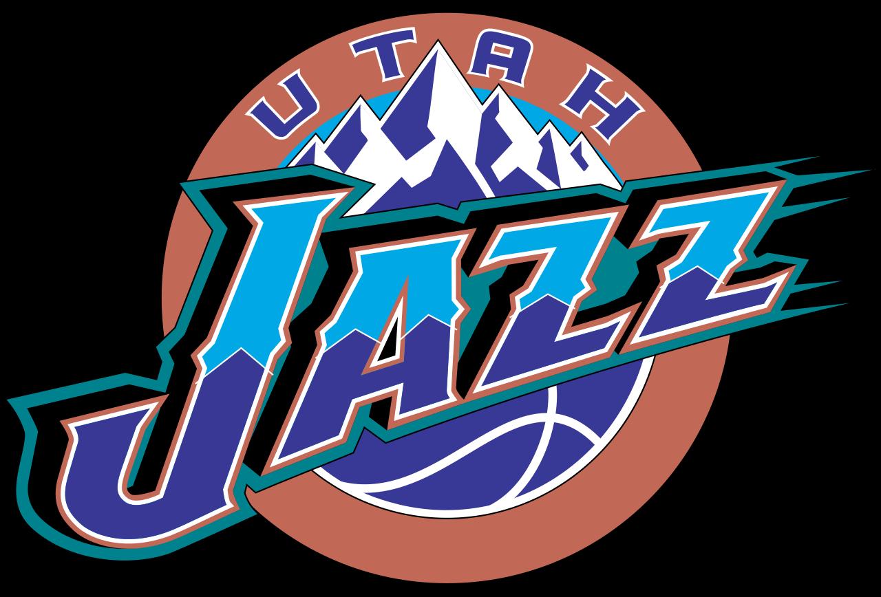 Jazz clipart logo. Utah old logos