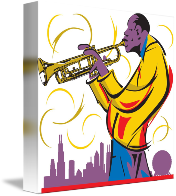 Jazz clipart muscian. New orleans musician by