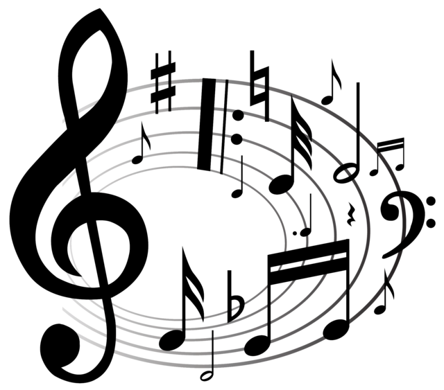 collection of music. Jazz clipart muscian