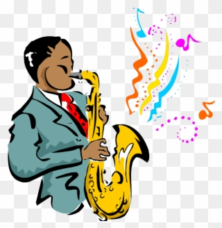 Jazz clipart muscian. Free png music clip
