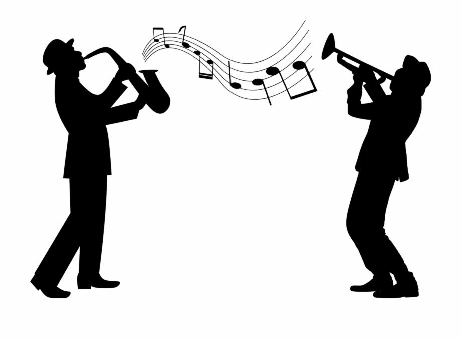 Guy playing saxophone transparent. Jazz clipart musical night