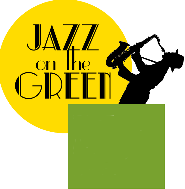 On the green august. Jazz clipart musical night