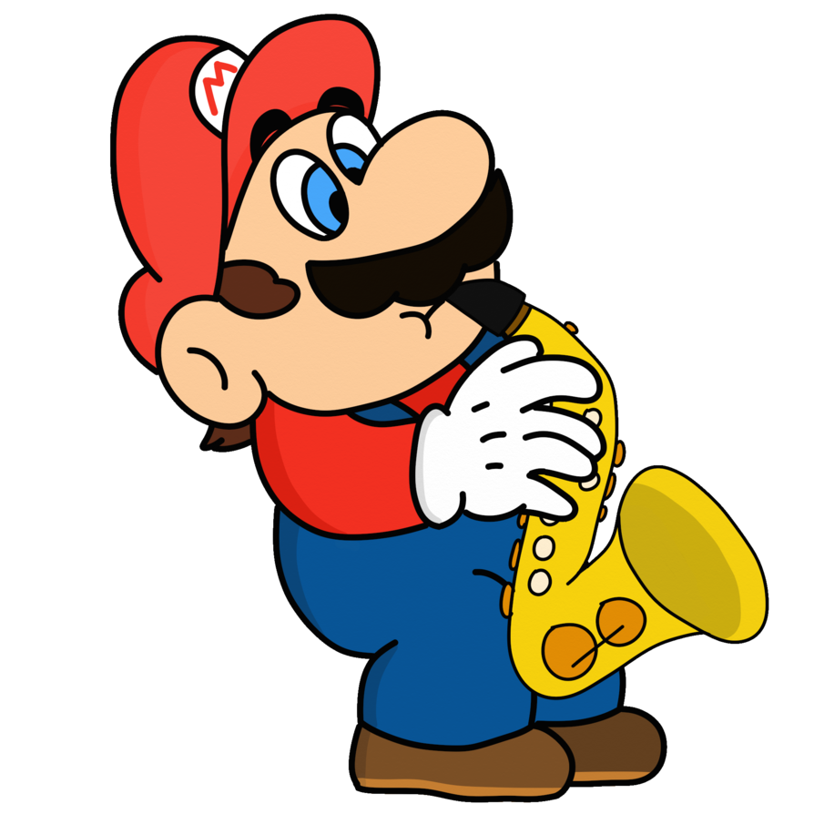 Jazz clipart player jazz. Mario by gregtendo on