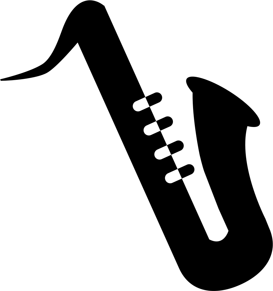Musician clipart solo. Saxophone silhouette png at
