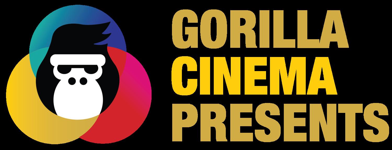 Gorilla cinema presents formatw. Jazz clipart speakeasy