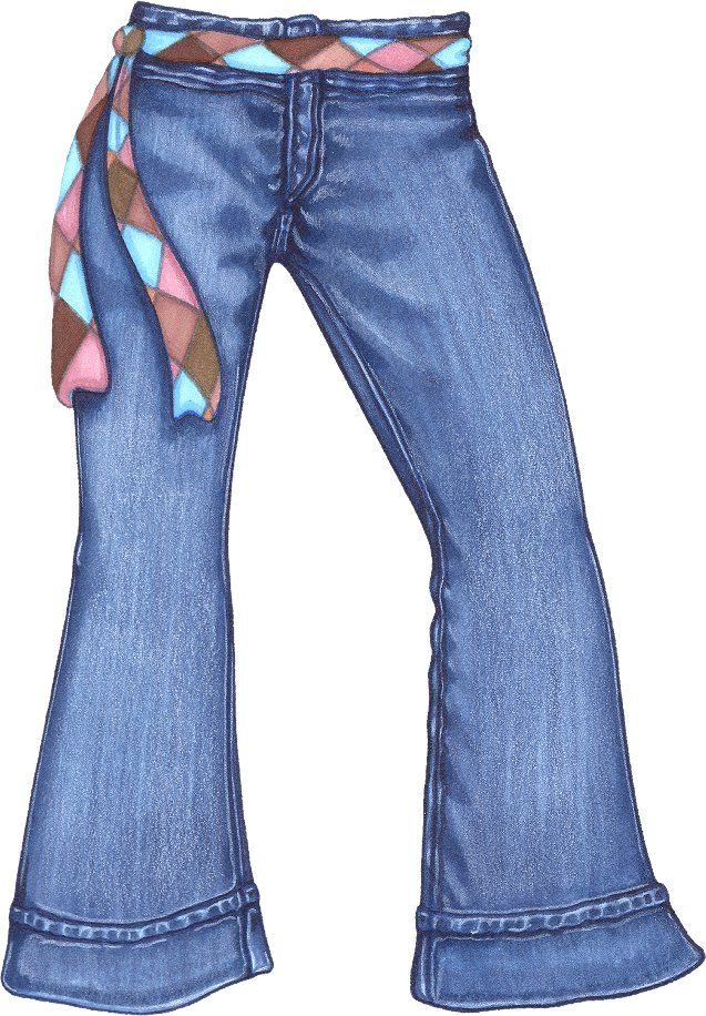 Jeans clipart. Pair of encode to