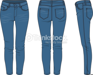 Jeans clipart. Free blue images at