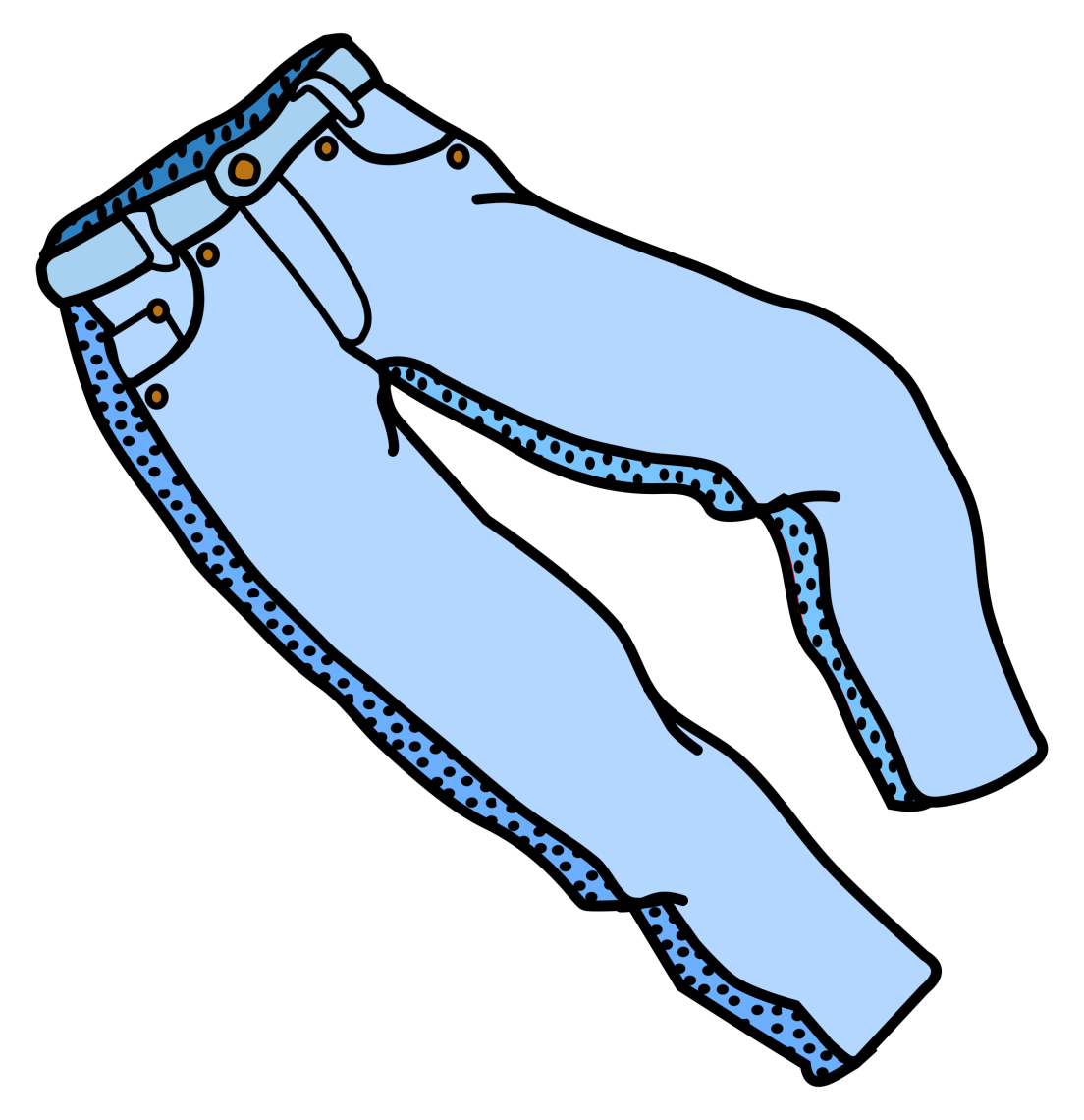 Denim day levi strauss. Jeans clipart long pants
