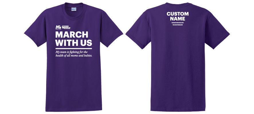 March of dimes unify. Jeans clipart t shirt