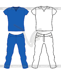 Jeans clipart t shirt. And portal