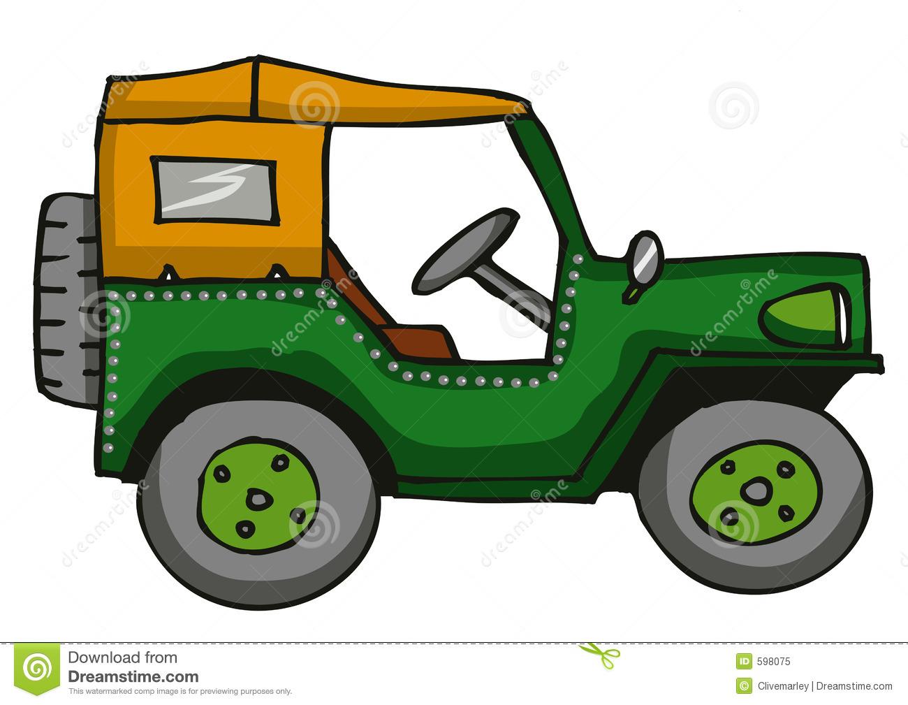 Jeep clipart. Cartoon