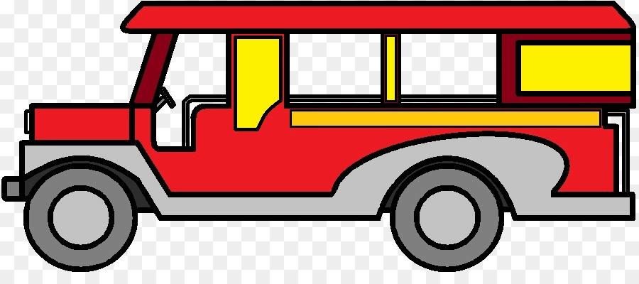 Jeepney philippines bus clip. Jeep clipart