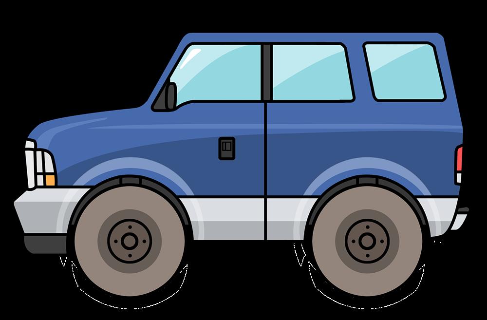 . Clipart cars suv