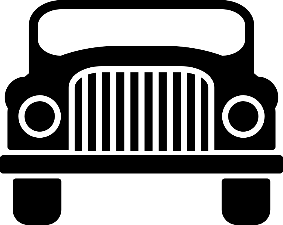 Jeep Clipart Grille  Jeep Grille Transparent Free For