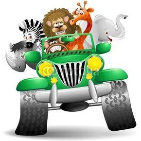 Jeep clipart jungle. Safari f