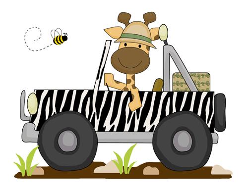 Jeep clipart jungle. Clip art library