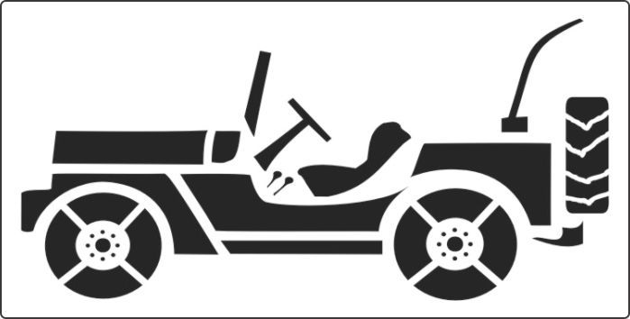 Jeep clipart pumpkin carving. Templates great stencil to