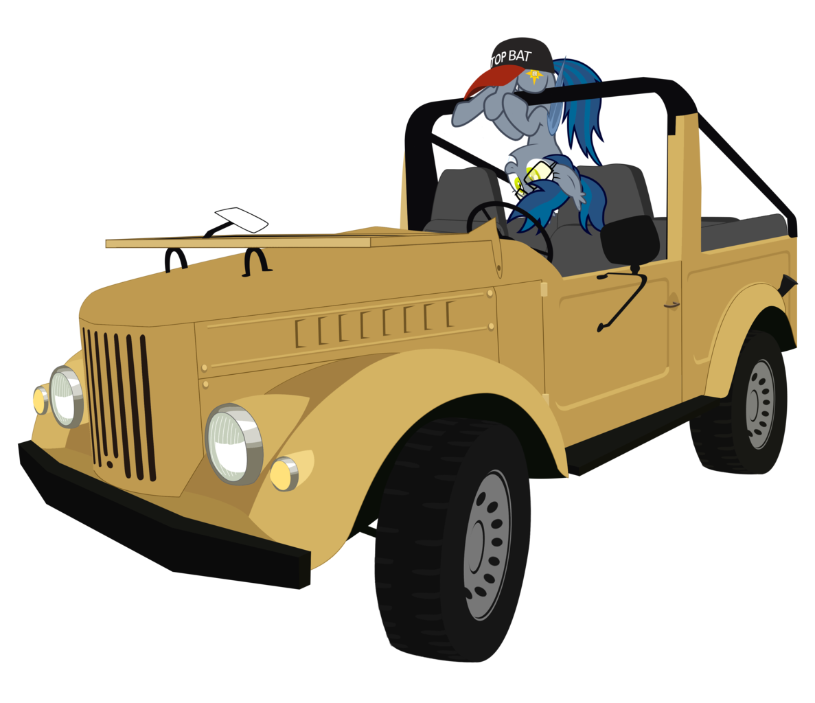 Jeep clipart vector.  absurd res artist
