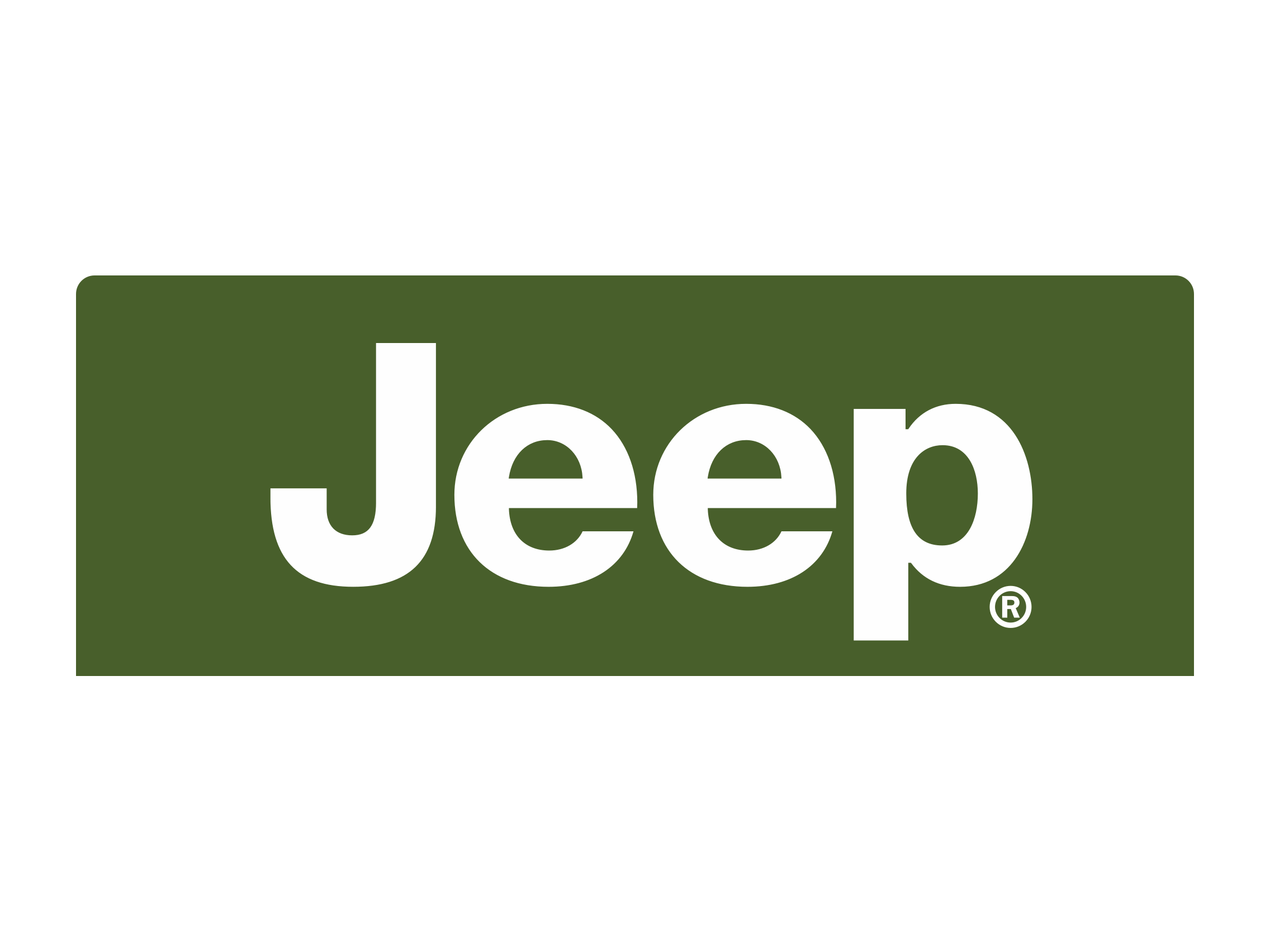 Logo perfect grill wrangler. Jeep clipart vector