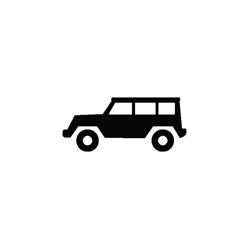 Car hummer sports suv. Jeep clipart vector