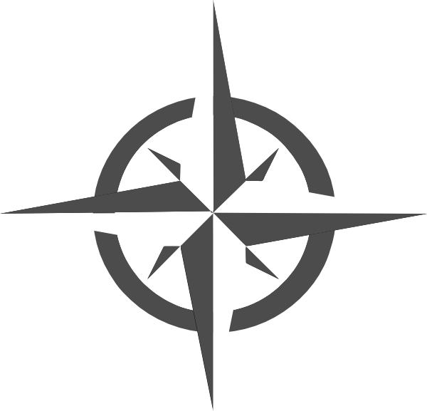 White compass rose clip. Jeep clipart vector