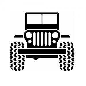 Wrangler decals stickers . Jeep clipart vinyl decal