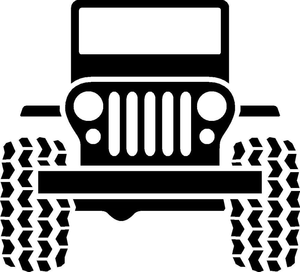 Logo wrangler cherokee tj. Jeep clipart vinyl decal