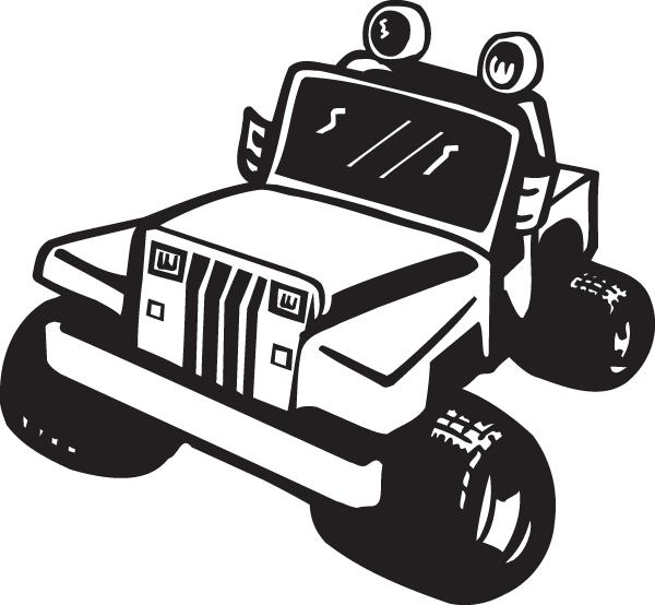 Jeep vinyl decal