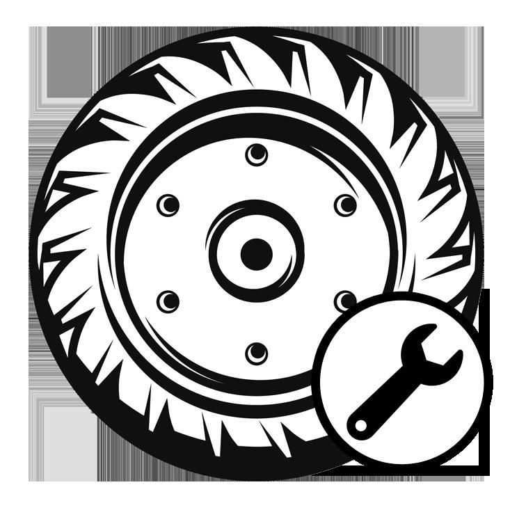 Wheel clipart tire repair. Commercial division blue ridge